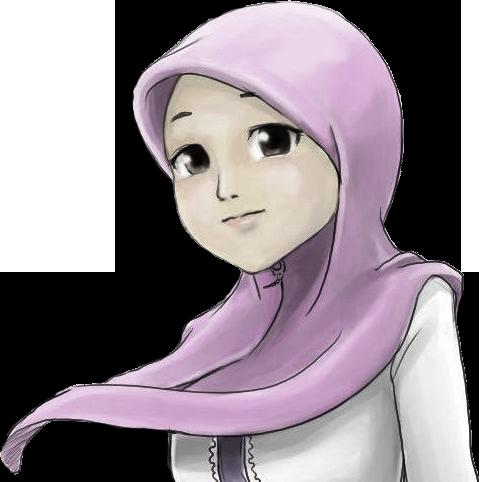 Jilbab-kartun
